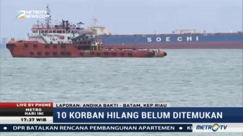Tabrakan Kapal Perang AS dan Kapal Tanker Murni Kecelakaan