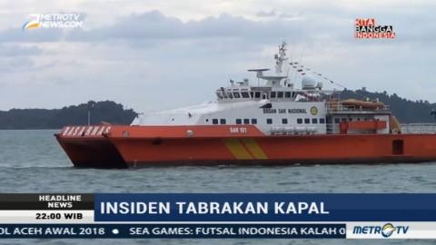 Pencarian Korban Tabrakan Kapal AS Difokuskan di Utara Pulau Bintan