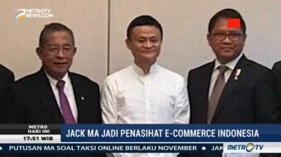 Jack Ma Ditunjuk Jadi Penasihat e-Commerce Indonesia
