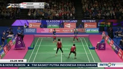 Dua Wakil Indonesia Lolos ke Final Kejuaraan Dunia Bulu Tangkis 2017