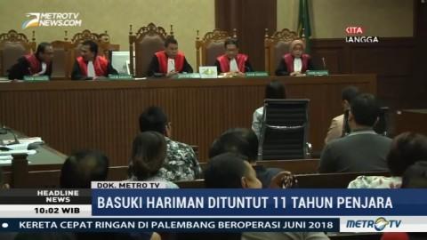 Basuki Hariman dan Ng Fenny Jalani Sidang Vonis Kasus Suap Hakim MK