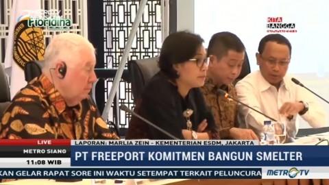 Tiga Kesepakatan Hasil Perundingan Pemerintah dan Freeport Indonesia