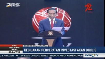 Hari Ini, Presiden Keluarkan Perpres Percepatan Investasi