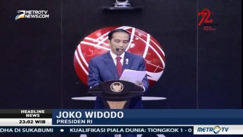 Jokowi Singgung Jumlah Mesin ATM yang Banyak