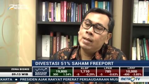 Pemerintah Diminta Hati-hati Terkait Divestasi Saham Freeport