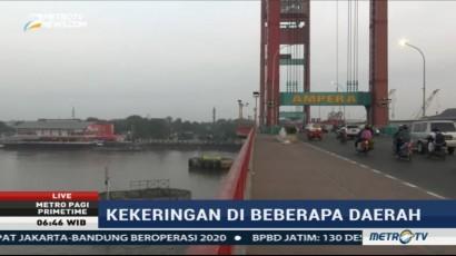 Kabut Asap Mulai Menyelimuti Palembang