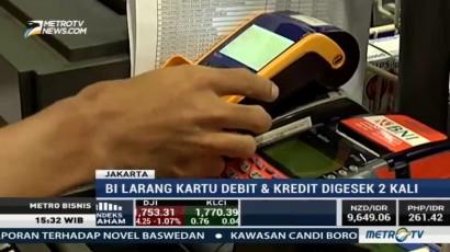 BI Larang Gesek Ulang Kartu Kredit dan Kartu Debit