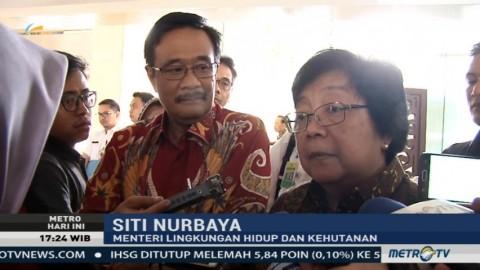 Menteri LHK dan Gubernur DKI Bertemu Bahas Kelanjutan Reklamasi Teluk Jakarta