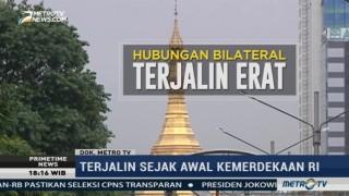 Menengok Hubungan Kenegaraan Indonesia-Myanmar