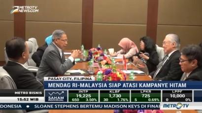 Mendag RI-Malaysia Siap Atasi Kampanye Hitam Produk Sawit