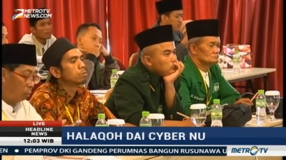 PBNU Gelar Halaqoh Dai Cyber di Bandung