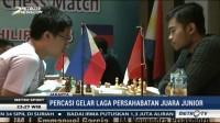 Percasi Gelar Laga Persahabatan Juara Junior Catur Indonesia vs Filipina