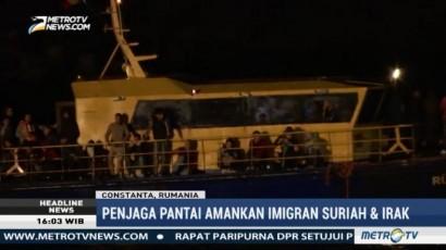 Seratusan Imigran Diamankan Penjaga Pantai Rumania