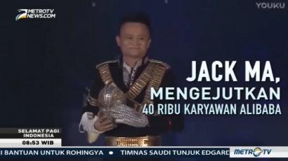 Rayakan Ultah Alibaba, Jack Ma Menari Ala Michael Jackson