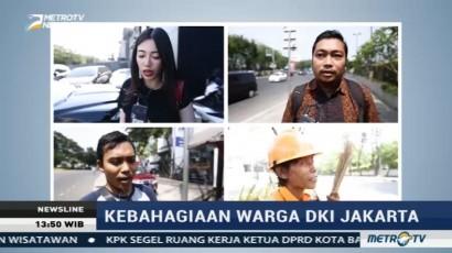 Indeks Kebahagiaan Warga DKI Jakarta