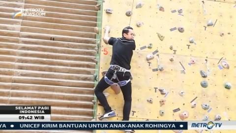 Berlatih Panjat Dinding Bersama Jakarta Climbers