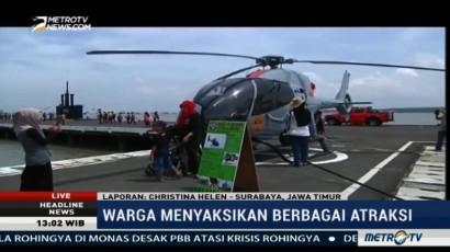 Koarmatim Surabaya Gelar Pameran Alutsista