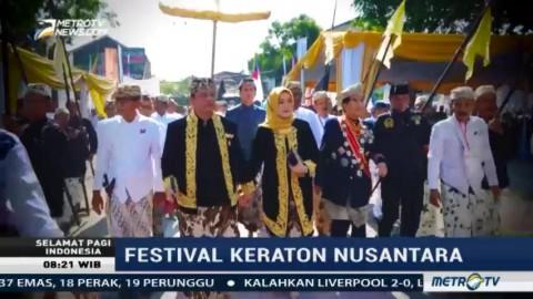 Kemeriahan Festival Keraton Nusantara XI