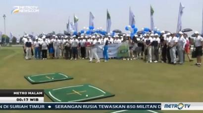 Turnamen Golf di PIK Diikuti Ratusan Peserta