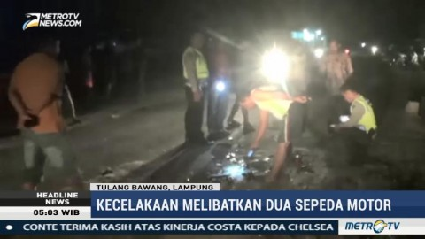 Kecelakaan Maut di Tulang Bawang, Dua Tewas