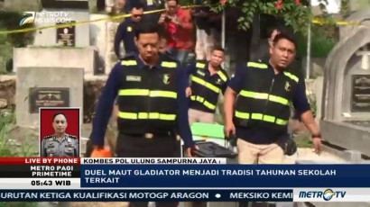 Polisi akan Rekonstruksi Kasus Duel Gladiator
