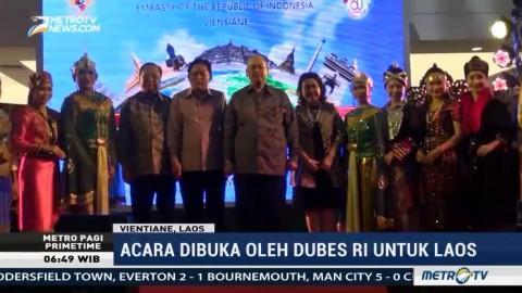 Indonesia-Laos Peringati 60 Tahun Hubungan Diplomatik