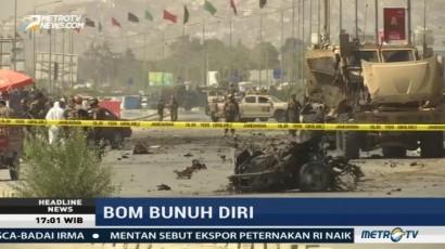 Bom Mobil Meledak saat Konvoi Tentara Internasional di Afganistan