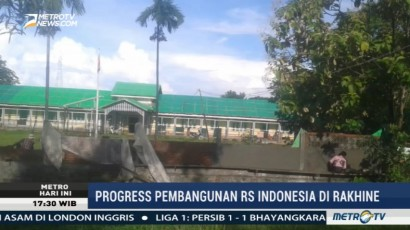 Tahap Pertama Pembangunan RS Indonesia di Rakhine Telah Selesai