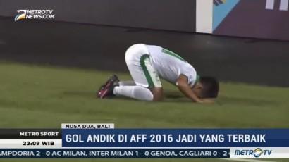 Gol Andik Vermansyah Terbaik di Piala AFF 2016