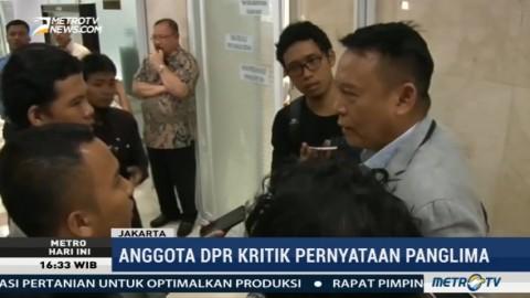 Pernyataan Panglima TNI Soal Pembelian Senjata Dianggap Membuat Gaduh
