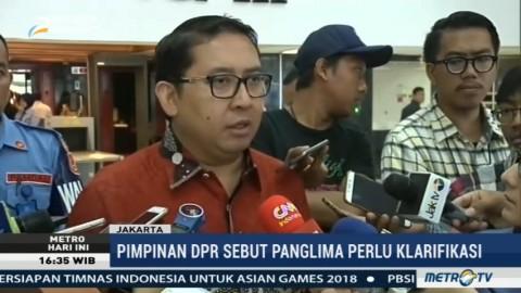 Fadli Zon Minta Panglima TNI Klarifikasi Soal Pembelian 5 Ribu Senjata