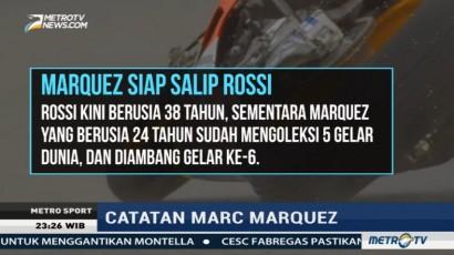 Catatan Prestasi Marc Marquez