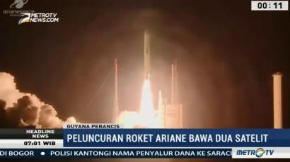 Roket Ariane 5 Luncurkan Dua Satelit Komunikasi ke Luar Angkasa