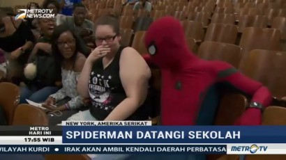 Spiderman Kampanye Gerakan Anti Perundungan
