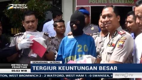 Seorang Petani di Semarang Edarkan Uang Palsu