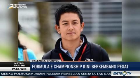 Rio Haryanto Jajal Formula E