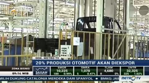 Target Produksi Otomotif Jabar Ditargetkan Meningkat Hingga 2 Juta Unit Per Tahun