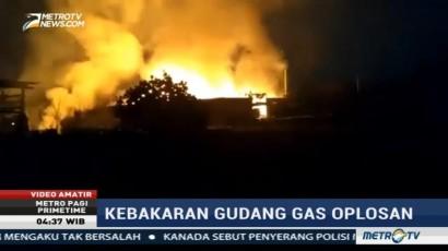 Sempat Terdengar Ledakan dalam Kebakaran di Gudang Gas Oplosan Tangerang