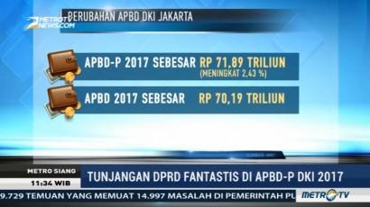 DPRD DKI Sahkan APBDP 2017 Senilai Rp71,89 T