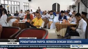 KPU Langkat Mulai Sosialisasikan Pendaftaran Parpol Jelang Pemilu