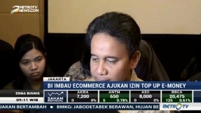 BI Imbau e-Commerce Ajukan Izin <i> Top Up </i> e-Money