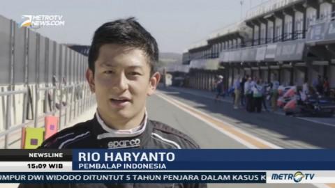 Rio Haryanto Ikut Tes Formula E di Valencia