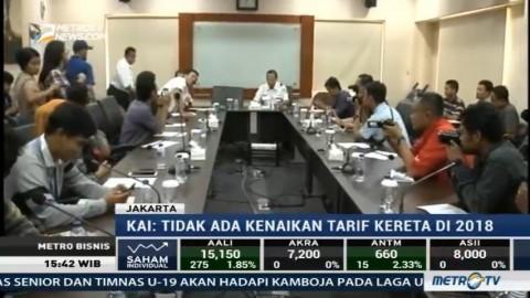 PT KAI Batal Naikkan Tarif Kereta Ekonomi Subsidi