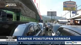 Pelabuhan Merak Tutup, Ratusan Kendaraan Terjebak Antrean