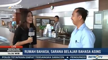 Belajar Bahasa Asing Gratis di Rumah Bahasa Surabaya