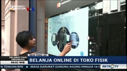 Sensasi Berbelanja Online di Toko Fisik