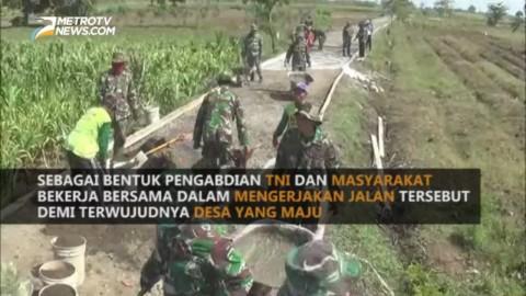 TNI Ngecor Jalan