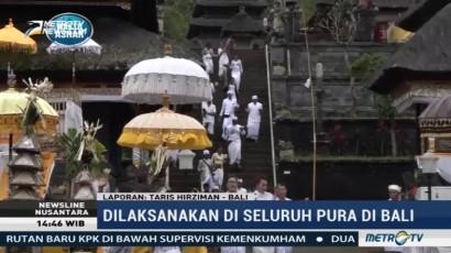 Warga Bali Memohon Keselamatan Melalui Upacara Odalan