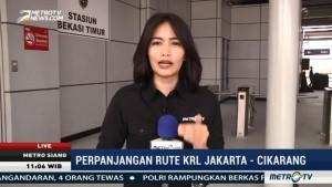 Naik KRL, Cikarang-Jakarta Hanya 90 Menit