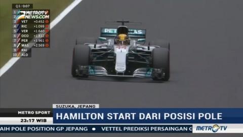 Hamilton Raih <i>Pole Position</i> di GP Jepang